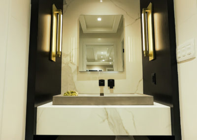 Michele Alfano Design Guest Bath 6