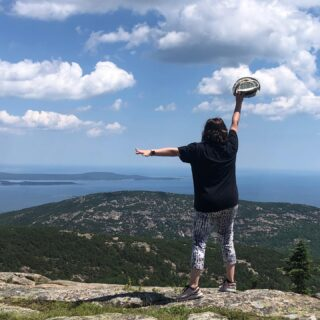 Majestic. Rejoice the soul. Smell Fresh salt tang from the sea. Hike some trails. Hear the waves. Scale some rocks. Walk barefoot across the sand. Experience Acadia. Check ✅ @acadianps #maine