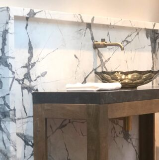 Nothing like natural stone ...Magic happens when the perfect pairings come together #poeticmodernism® @imperial_marble_ny_nj