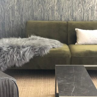 Sneek peek of my new living space...Combining my love for Scandinavian lines and Japanese arts, it's coming together. Design:@michelealfanodesign. I am a poetic modernist that specializes in reinventing interior environments that create memorable spaces that calm, uplift, and create happiness. ...#poeticmodernism® #interior #transformation #livingmybestlife #wellbeing #greencouch @wallureny